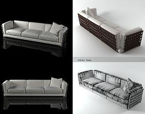 Cestone sofa 310 3D model
