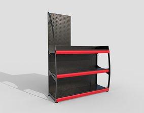 3D asset Supermarket shelf