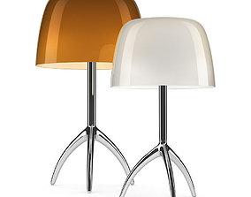 3D Foscarini Lumiere table lamp