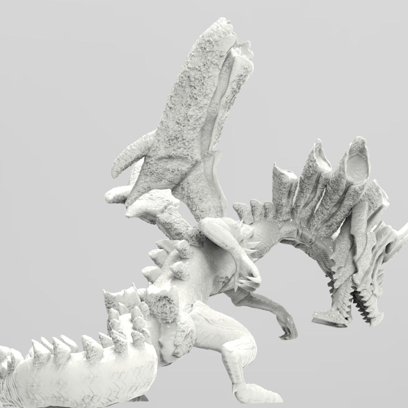 Dire Miralis from Monster Hunter 3