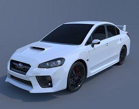 3D model Subaru WRX STI