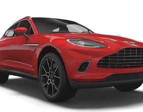 Aston Martin DBX Worldwide 2021 3D model