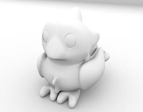 Chocobo - Toony 3D model