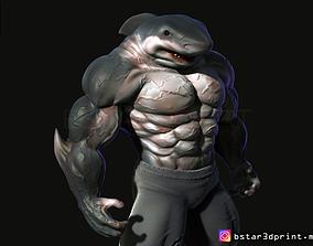 3D print model Shark Man