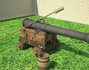 3D 24 ft cannon