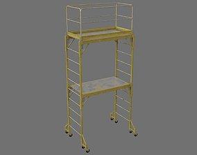 3D model low-poly Scaffold 1C
