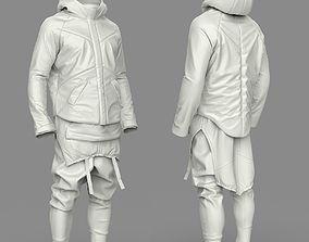 3D model Si-Fi Costume All Parts