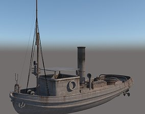 3d old boat