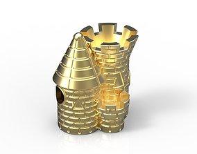 Sand Castle Charm 3D print model