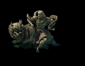 Model - Kashayana Buddha Forest Water Sculpture 03 3D