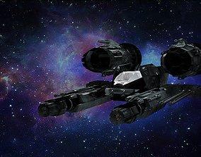 3D asset realtime starship