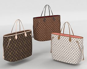 Louis Vuitton Neverfull GM Totes Collection 3D