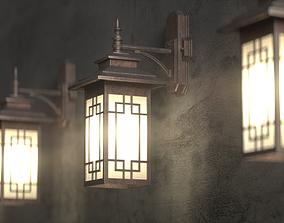 3D model Korean Traditional Lamps