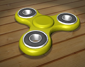 realtime Fidget Spinner 3D Model