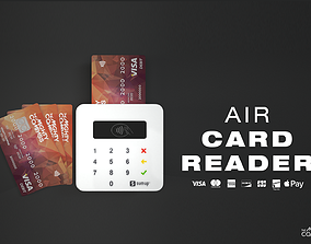 3D model SumUp Air Card Reader