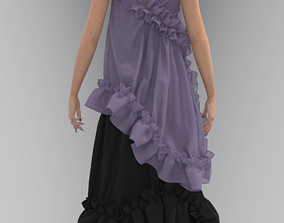 3D Dreamy Dress
