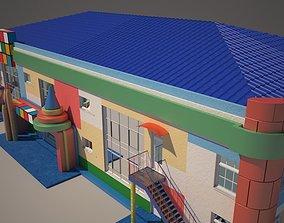 3D Kindergarden preschool