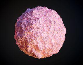 Food Ice Cream Strawberry Seamless PBR Texture 3D
