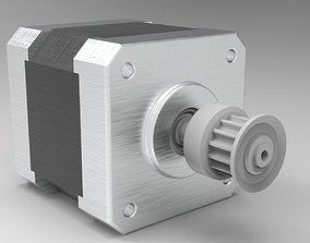 3D asset stepper motor