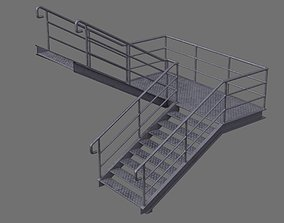 3D asset Stair 1E