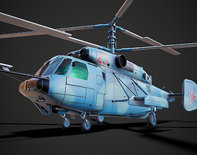 Russian NAVY helicopter 3D model