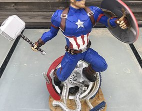 3D print model Captain America Avengers Endgame