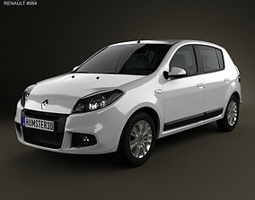 Renault Sandero BR 2011 3D model