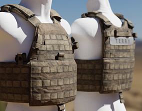 3D model LBT 6094 Military Platecarrier Vest - Bulletproof