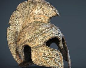 Greek Helmet 3D asset