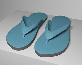 3D Slippers feet