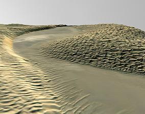 3D model Taklimakan Desert China