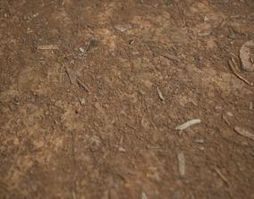 Tilia Dirt Texture 8K Photoscanned 2mx2m 3D asset