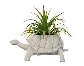 3D printable model Turtle Vase plant