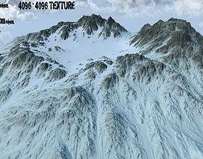 Snow Crater 1 3D model