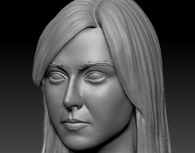 3D printable model Maria Sharapova