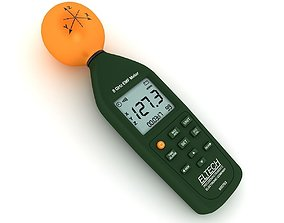 Electromagnetic Field Meter 3D