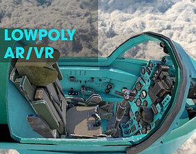 Mig21 Cockpit 3D Lowpoly AR - VR - PBR for apps realtime 1