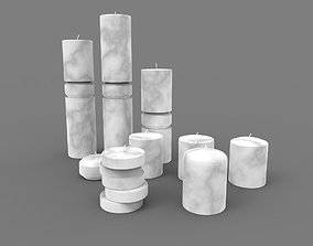 3D model Candles Collection