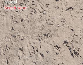3D Beach sand Scan