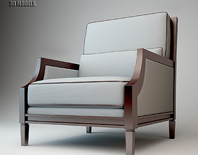 3D Thomasville Upholstery Excalibur Chair