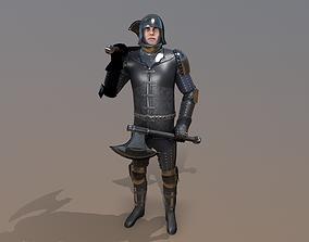 3D asset TAB Medieval Knight - 7B - Skin1