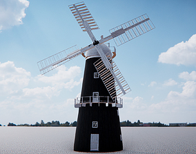 3D model realtime Windmill