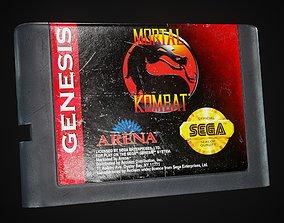 Sega Cartridge 3-Pack 3D asset