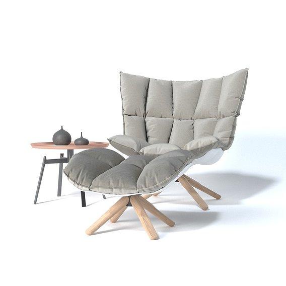 Studio Lighting - Cushion Chair