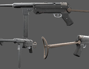 MP40 - German WW2 Weapon 3D asset