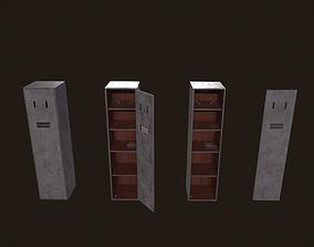 Locker Dirty - Low Poly - FREE 3D model