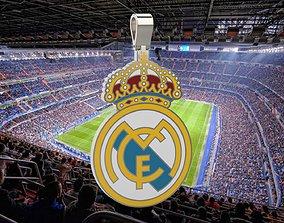 jewel Real Madrid Pendant 3D print model