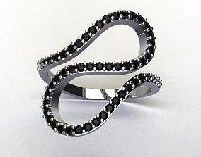 women ring 3D model ring