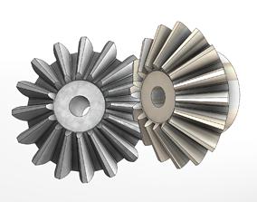 Bevel Gear 3D print model