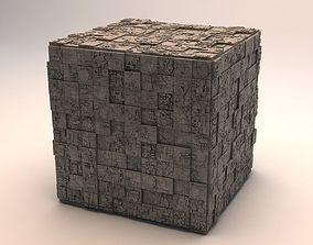 Sci-Fi Shapes - The Cube v2 3D model
